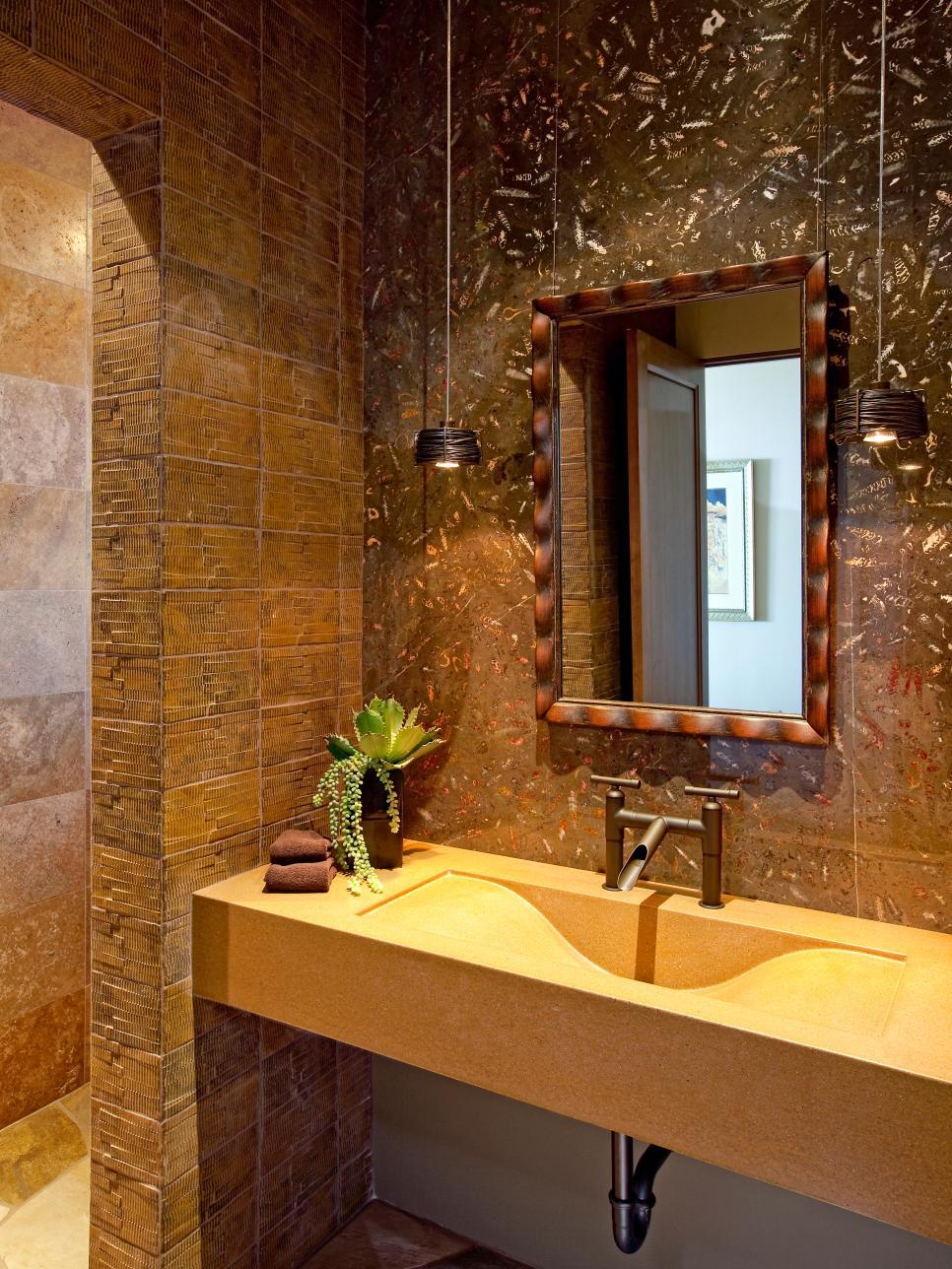 20 ideas for bathroom wall color diy for Marrakech bathroom design