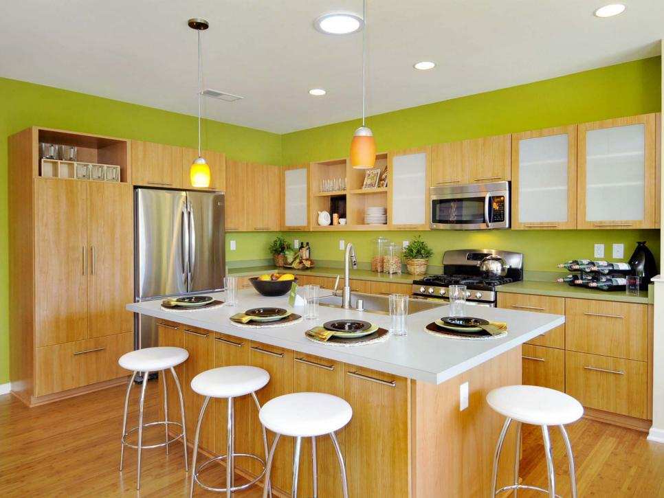 Modern Kitchen Green modern kitchen design ideas at your fingertips | diy