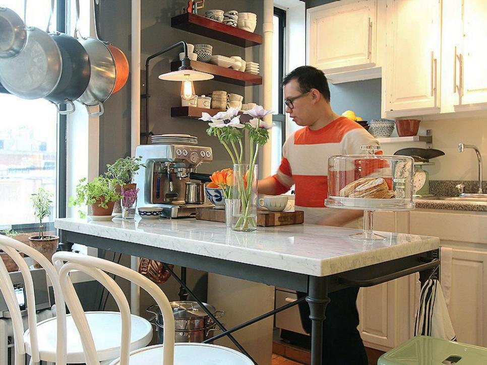 SmallKitchen Design Tips DIY - Design ideas for small kitchen spaces