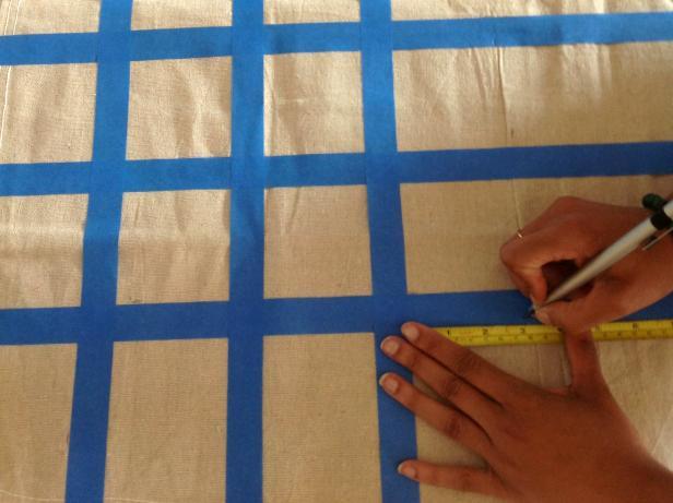 CI-Manvi-Drona_Stencil-Dropcloth-Tablecloth_measuring-squares2a_3x4