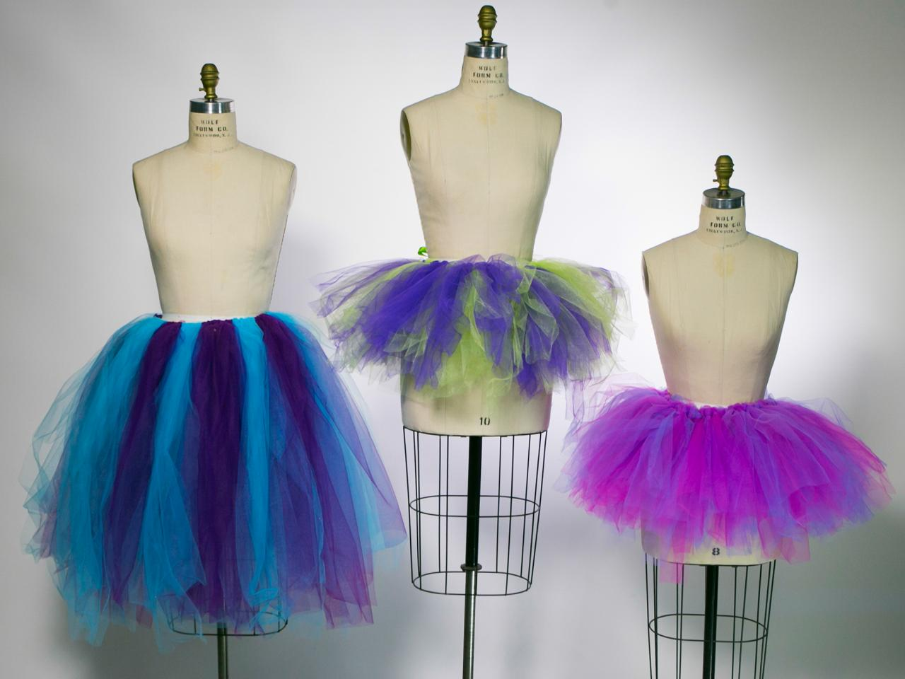 How To Make A No Sew Tutu Skirt