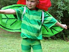 Budding Beauty Flower Halloween Costume