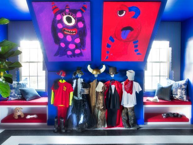 Kids 39 Playroom Costume Display And Storage Diy