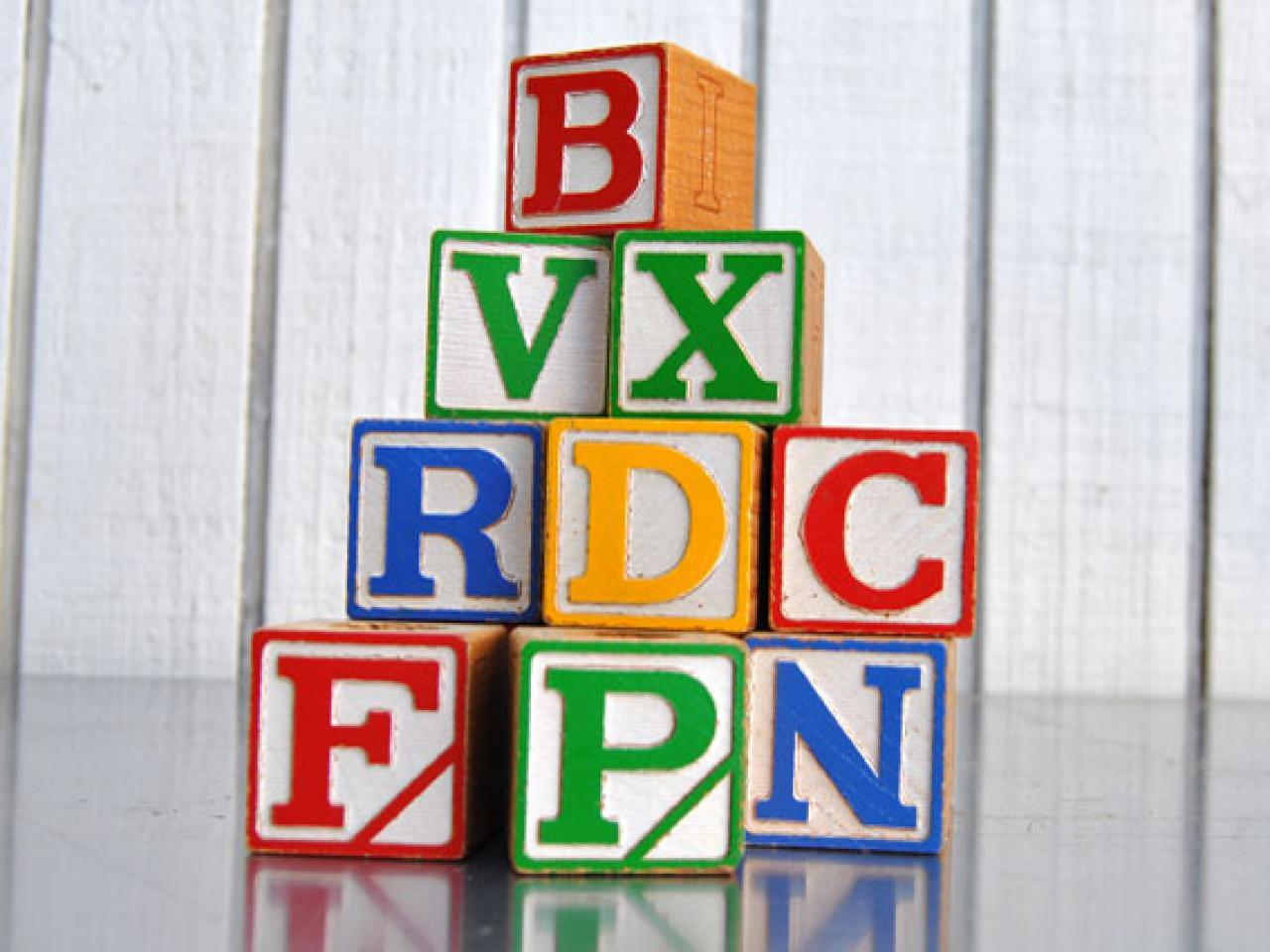 S Building Toys  Letters