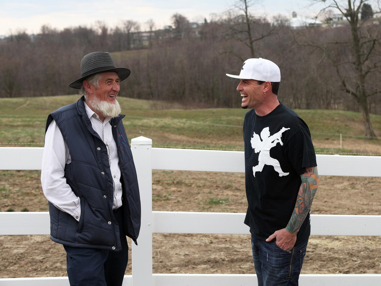 vanilla ice goes amish | diy