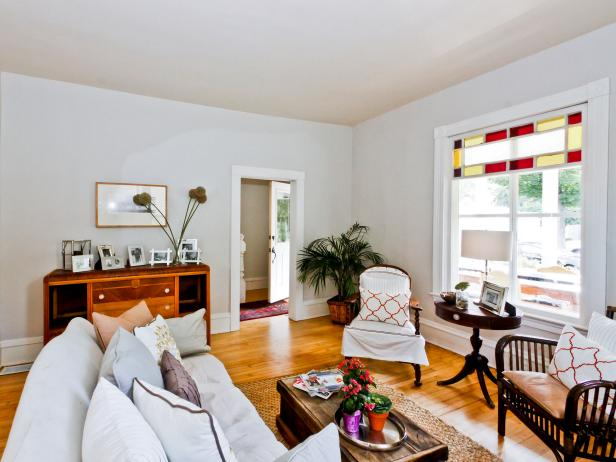 Rehab Addict- 4th Street: Living Room After