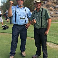 Albert and Leon Go Golfing