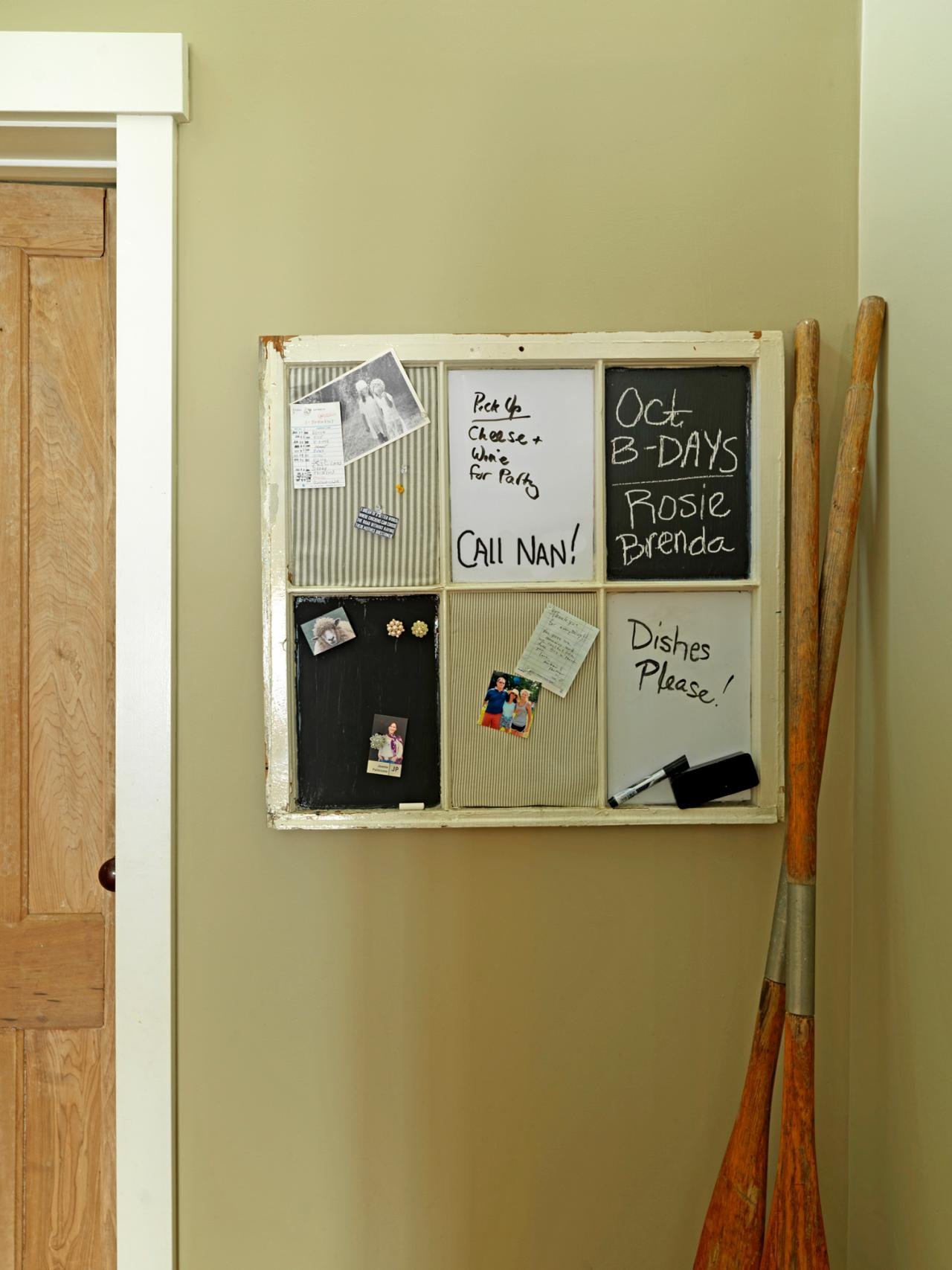 diy memo boards bulletin boards and message boards organization ideas and how tos for closets. Black Bedroom Furniture Sets. Home Design Ideas