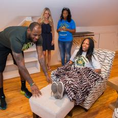 Rehab Addict With LeBron James: Attic Bedroom