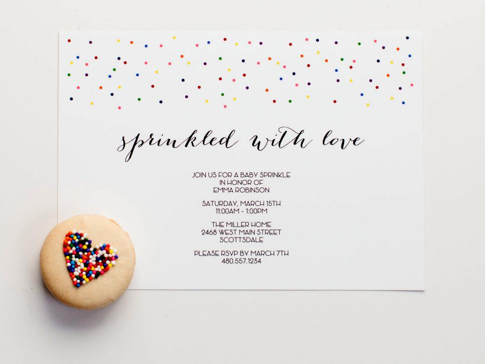 Sprinkle Baby Shower Decorating Ideas | DIY