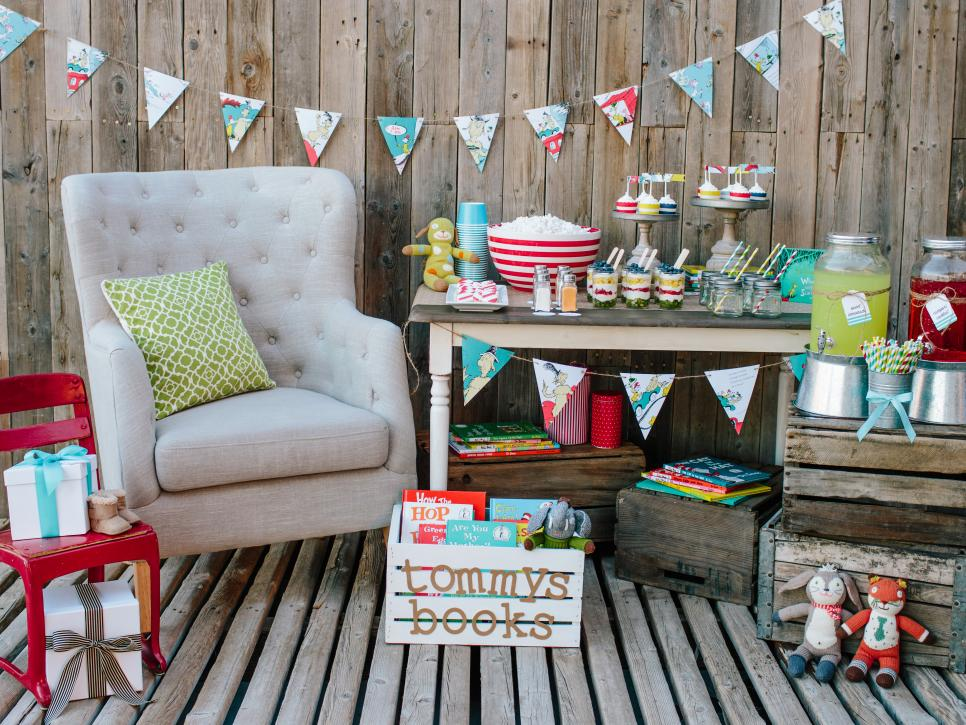 Book Themed Baby Sprinkle Shower Ideas