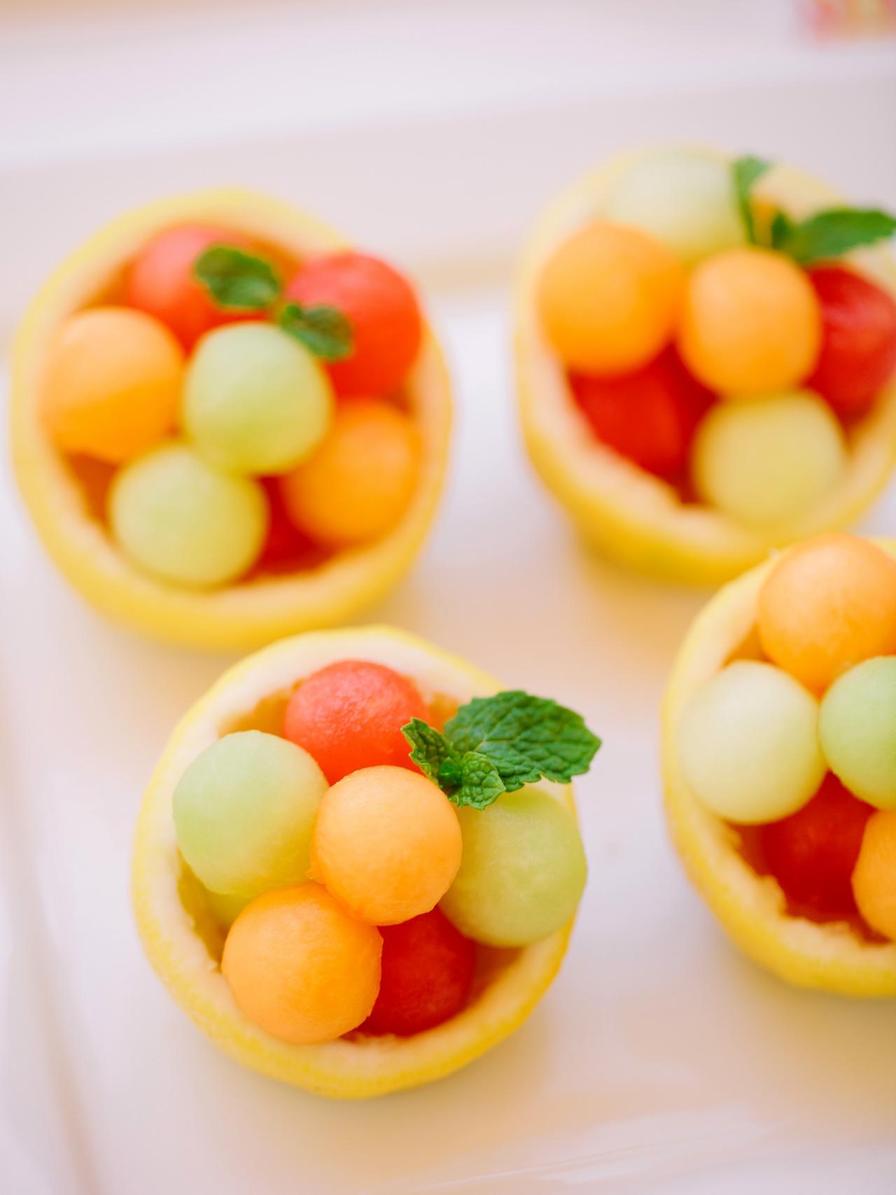 How To Make Melon Filled Citrus Bowls Diy