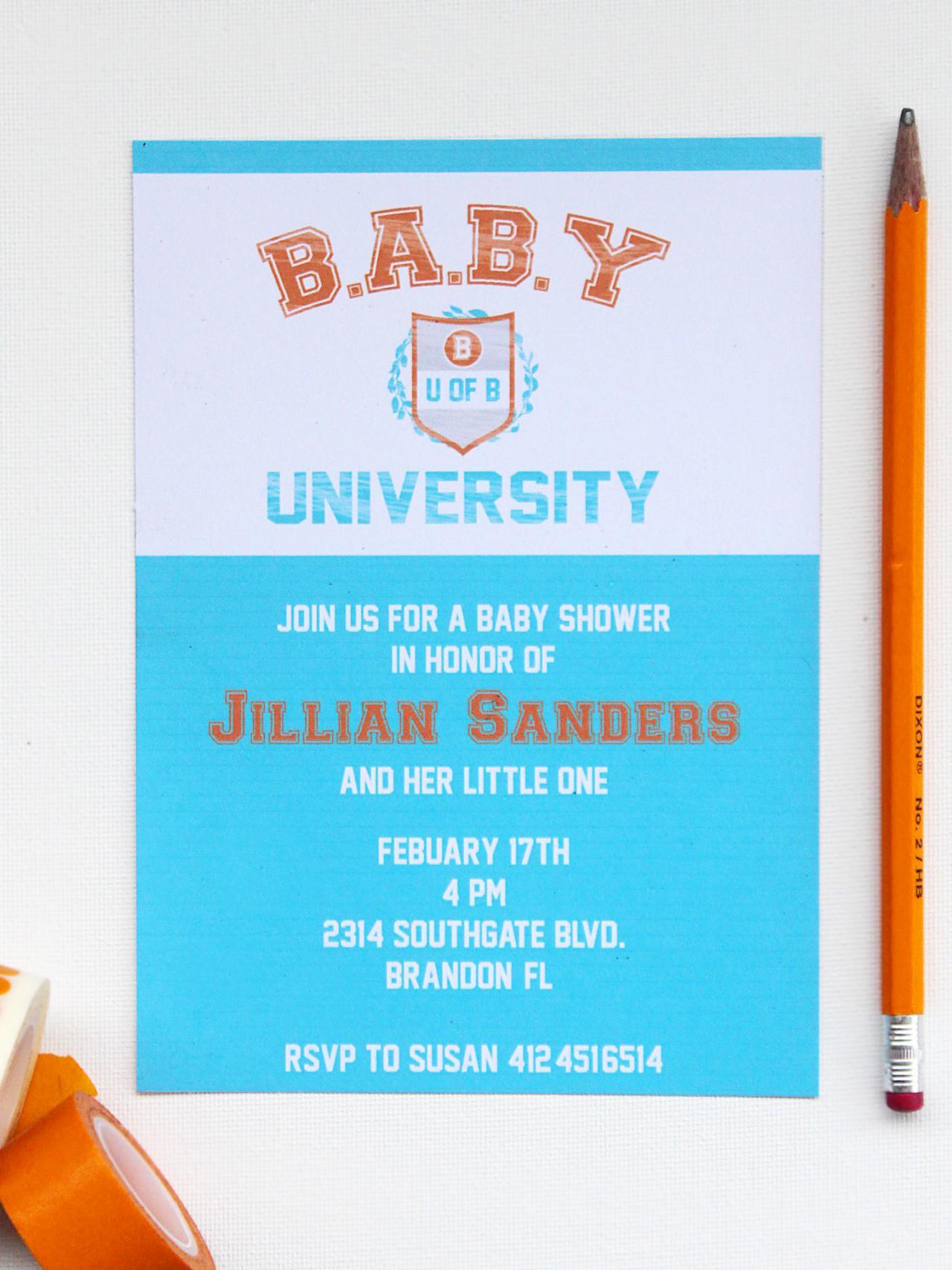 DIY Co ed Baby Shower Ideas DIY Network Blog Made Remade