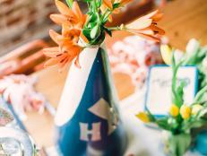 Megaphone Floral Vessel