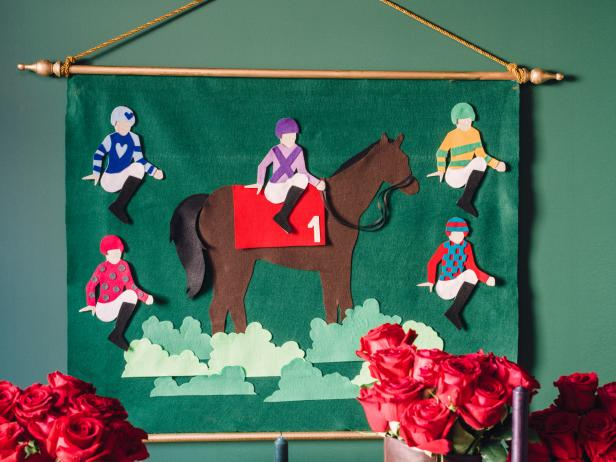 Pin the Jockey on the Thoroughbread