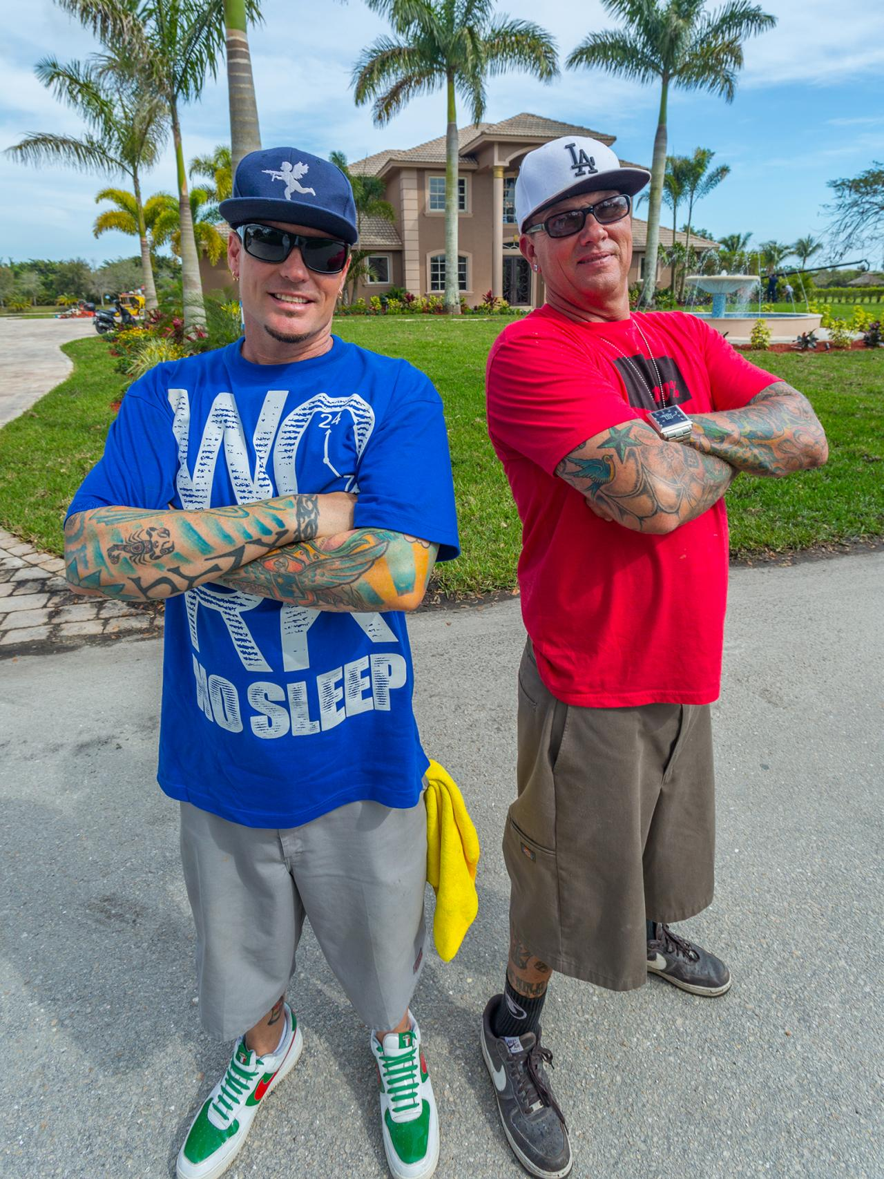 the vanilla ice project Pop icon vanilla ice and his crew of contractors renovate florida mansions.