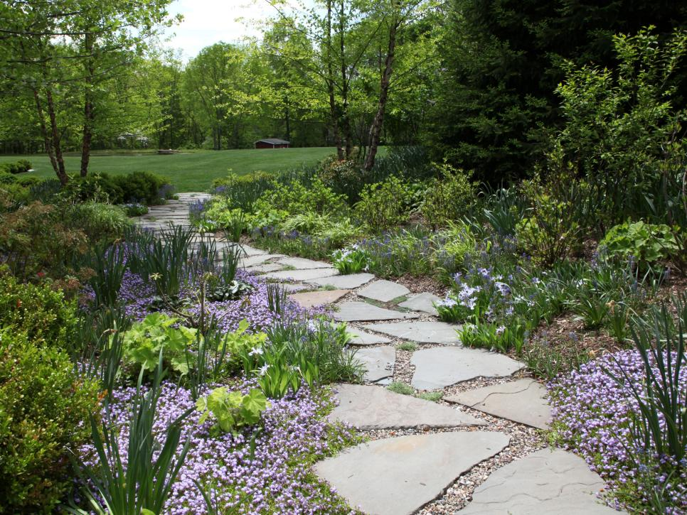 Pictures of garden pathways and walkways diy Pathway images