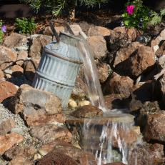 Yard Crashers: Oil Jug Water Feature