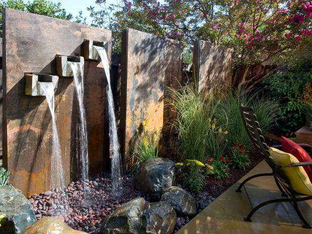 Diy water feature ideas projects diy Home made water feature