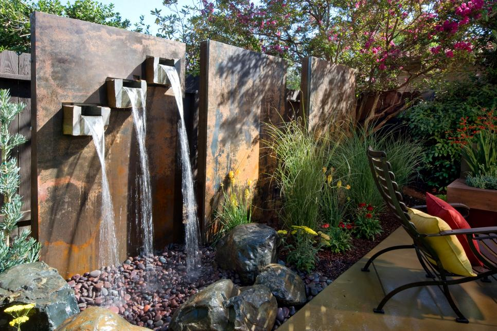 Yard crashers water feature wonderland yard crashers diy Australia home and garden tv show