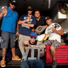 Vanilla Ice And Crew VIP Sign