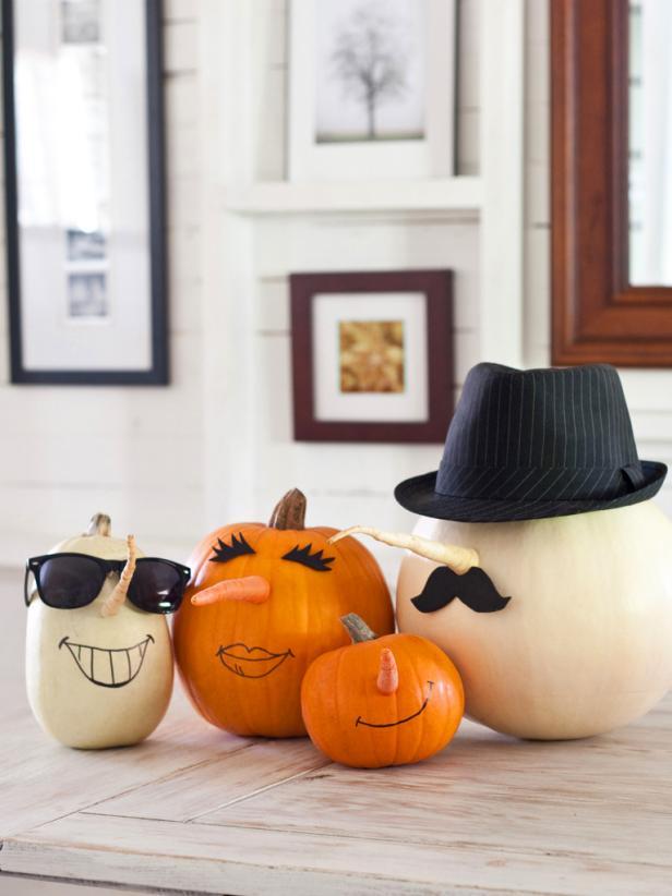 Parsnip Nosed Pumpkins