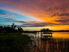 Dock at Sunrise 4