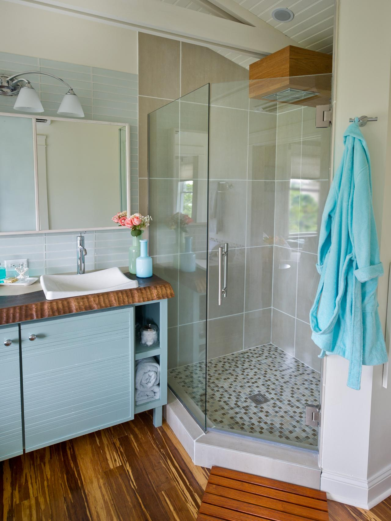 Sauna Shower DIY Submited Images