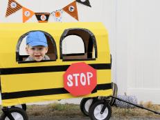 Big Yellow School Bus Halloween Costume