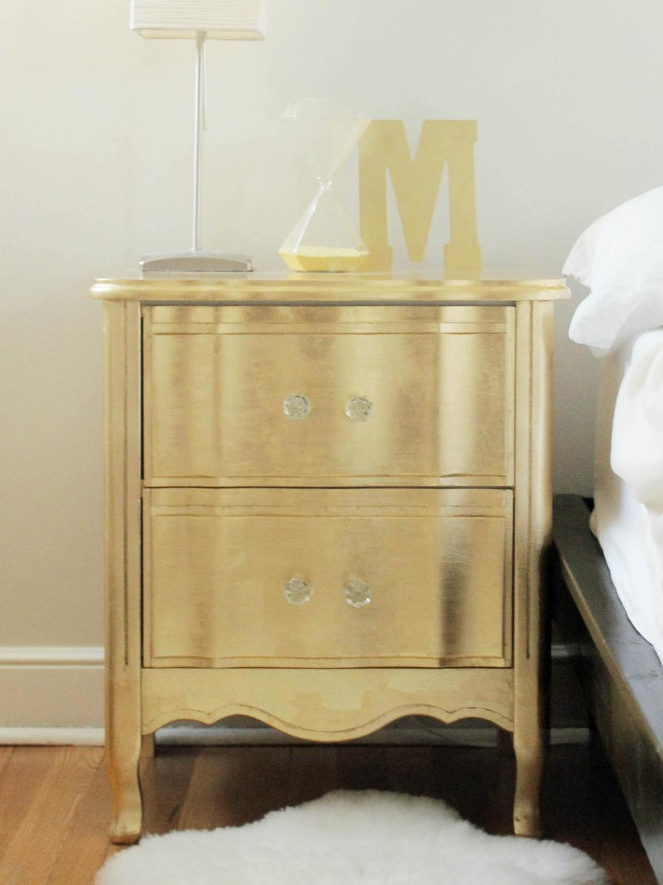 Ideas for Updating an Old Bedside Tables | DIY