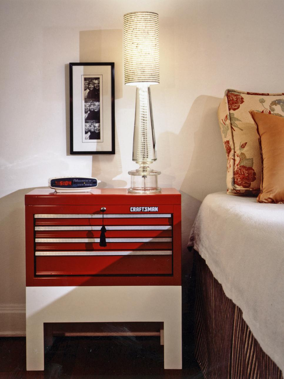 Side Table Bedroom 12 Ideas For Nightstand Alternatives Diy