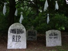 halloween decorations funny tombstone names and epitaphs 12 photos