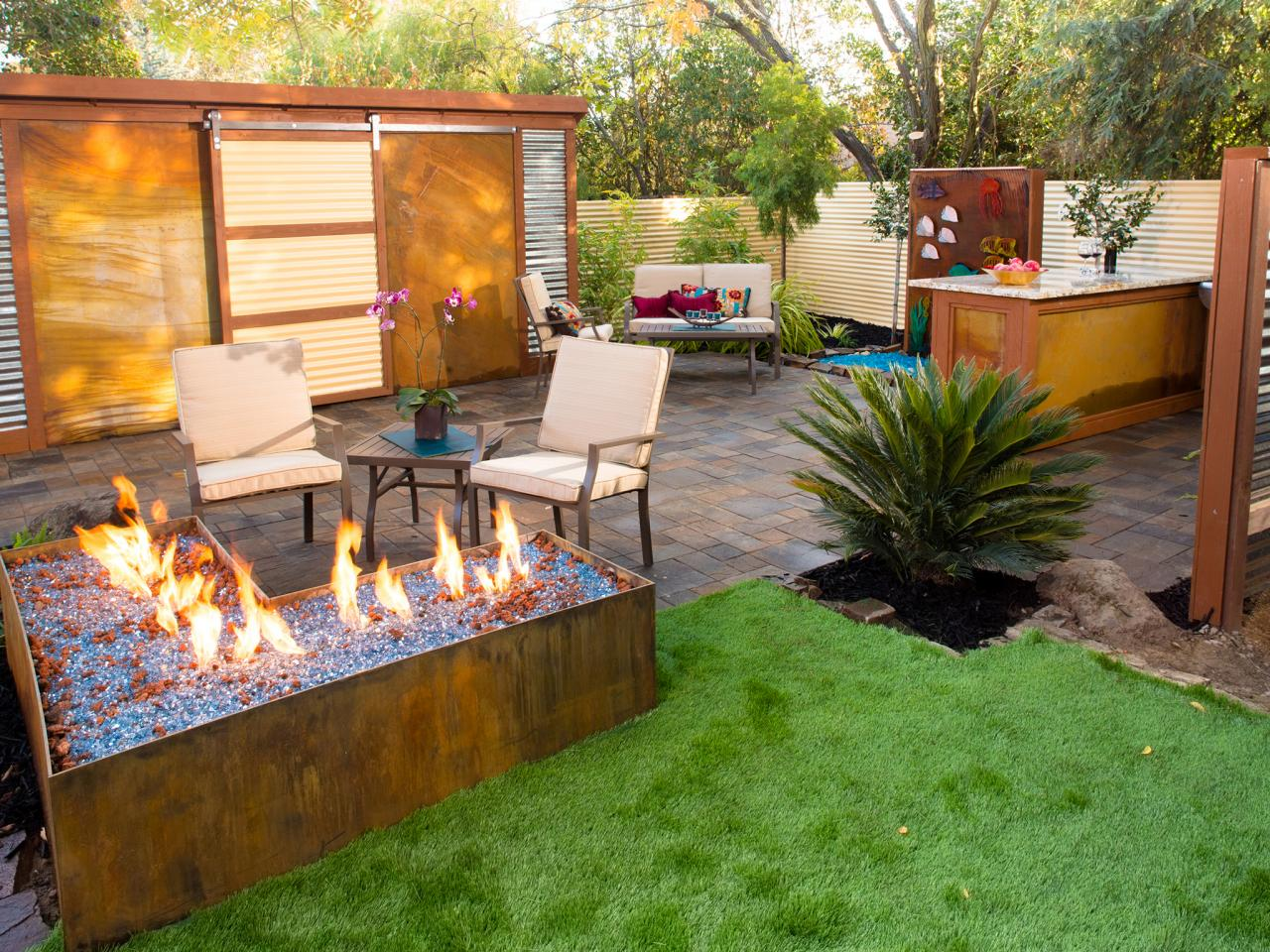 Yard crashers diy for Backyard designs