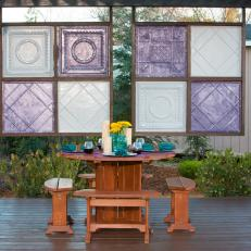 Yard Crashers: Outdoor Dining With Privacy