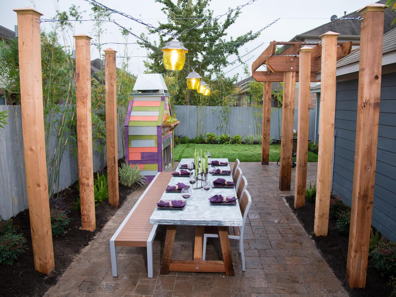 Backyard Table Diy : Yard Crashers  DIY