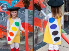 Watercolor Paint Tray Halloween Costume