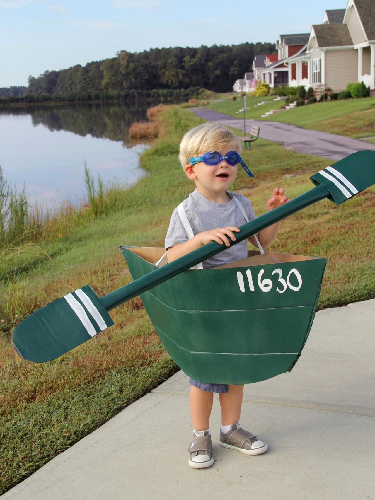 Ahoy Trick Or Treaters Boat Halloween Costume