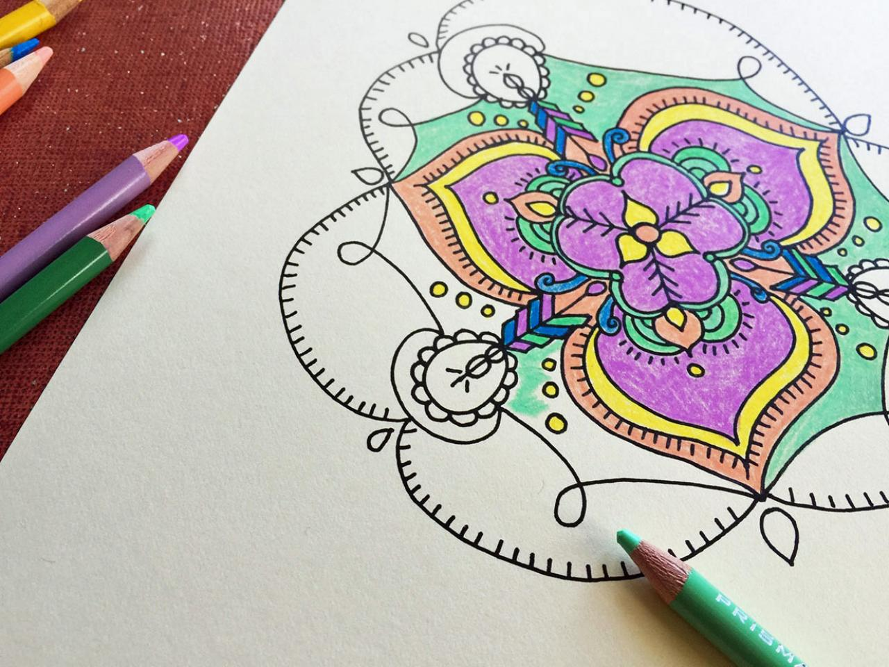 Jump On The Adult Coloring Trend With These Essentials