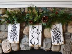 19 rustic christmas decorations made inexpensively from upcycled items 19 photos - Rustic Christmas Decorations