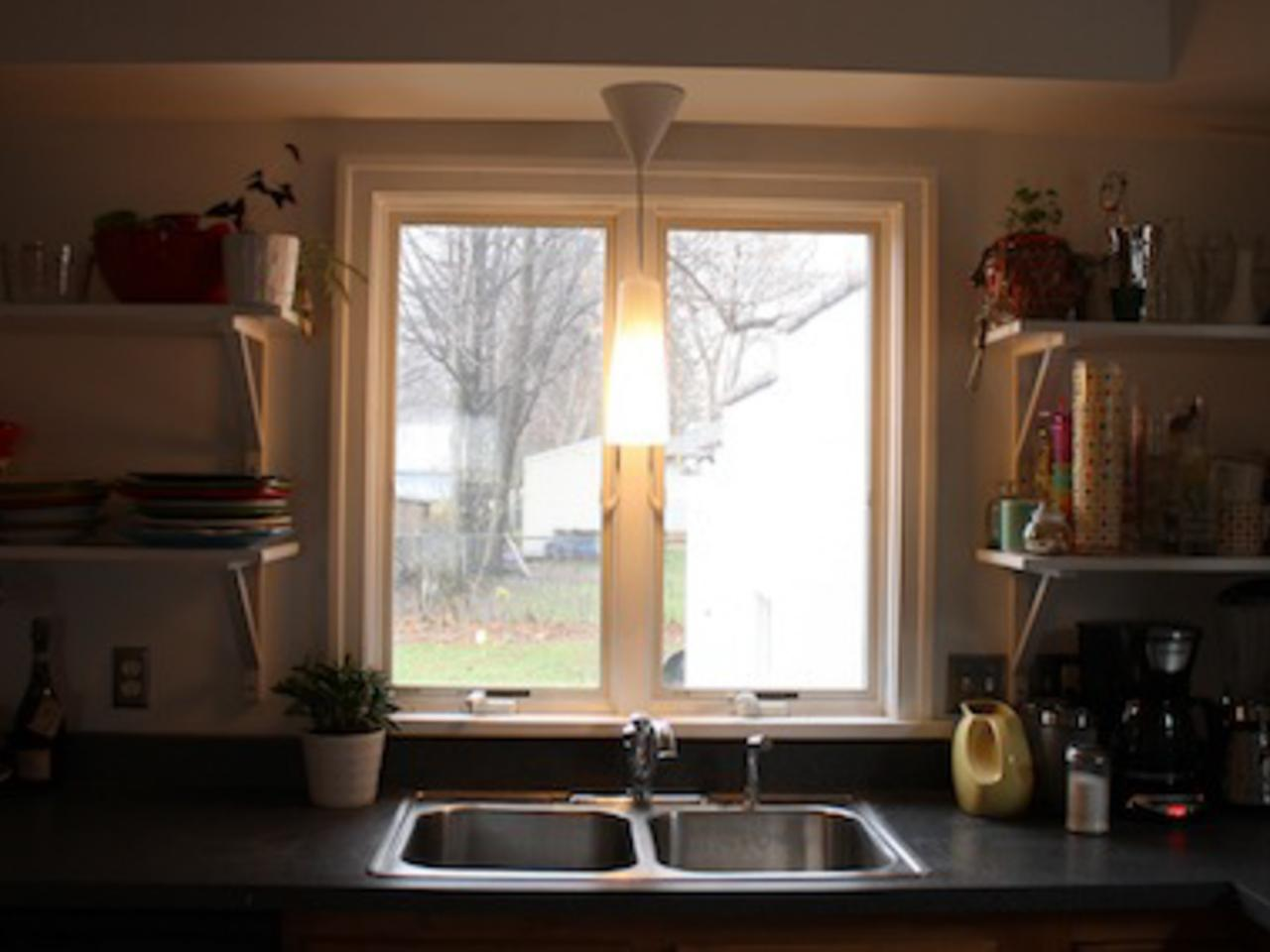 Kitchen Sink Light How To Install A Kitchen Pendant Light In 6 Easy Steps Diy