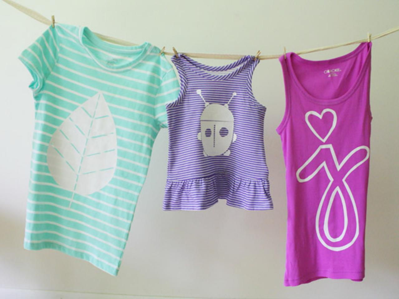 Learn How To Make Custom Shirts Using Diy Vinyl Cutouts