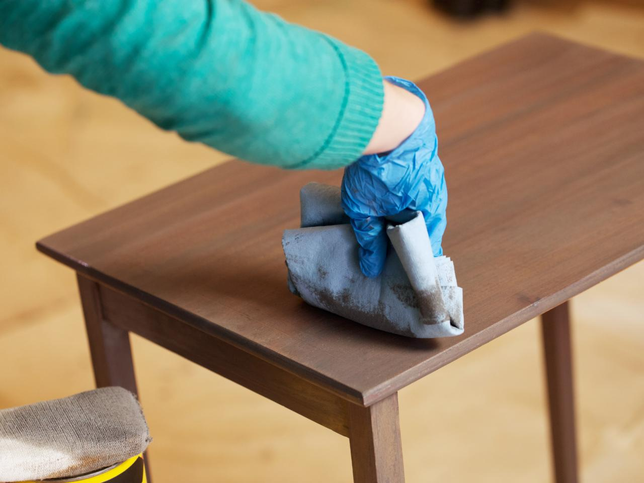 Step 7. How to Strip  Sand and Stain Wood Furniture   how tos   DIY