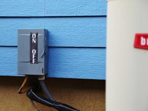 HVAC Unit On/Off Switch