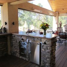 Ultimate Luxury Deck with Outdoor Kitchen