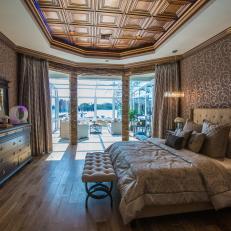 Luxurious Master Bedroom From Season 5 of The Vanilla Ice Project