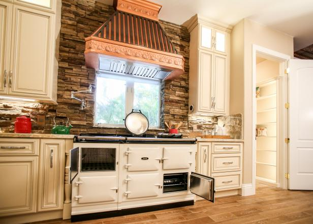 Custom Kitchen From The Vanilla Ice Project