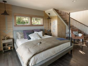 DIY Network Blog Cabin 2015 Master Bedroom
