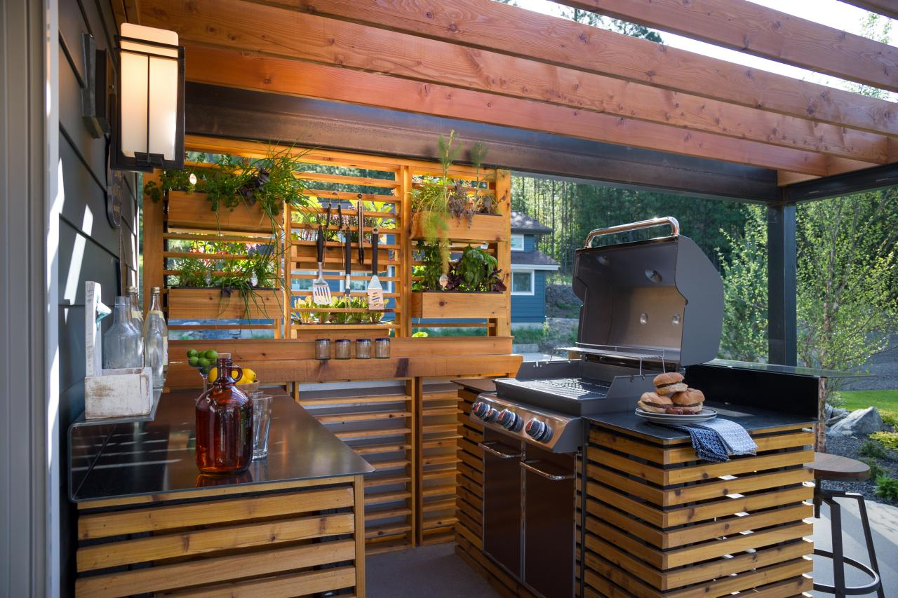 10 Gorgeous Backyard Kitchen Designs Diy Network Blog