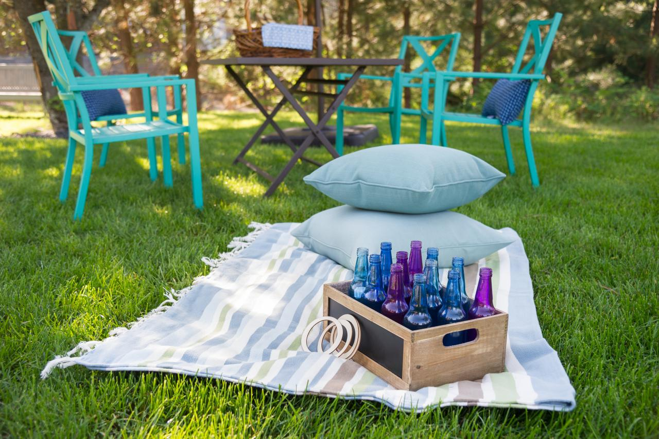 30 diy outdoor party ideas and entertaining tips diy network
