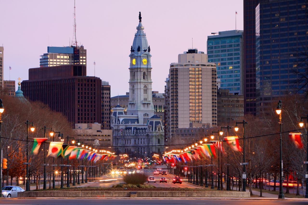 Restaurants Near City Avenue Philadelphia